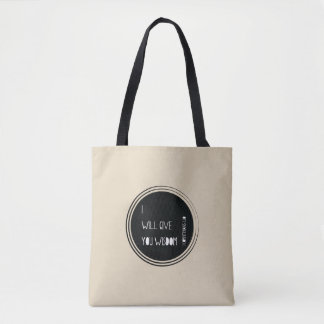 I will give you wisdom Christian Verse Tote Bag