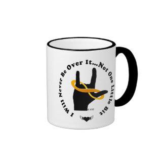 """""""I Will Never Be Over It"""" 11oz Ringer Mug"""