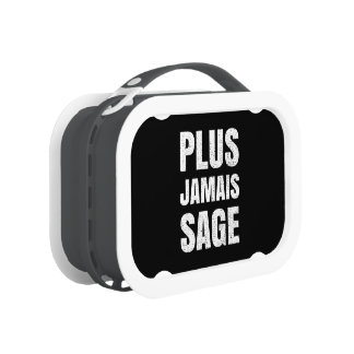 I Will Never Behave Again Naughty French Lunchboxes