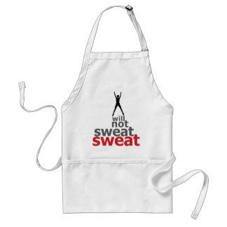 I Will Not Sweat Sweat - Leaper Standard Apron