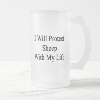 I Will Protect Sheep With My Life Coffee Mug