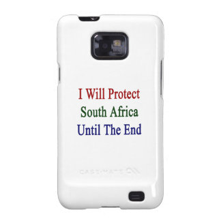 I Will Protect South Africa Until The End Galaxy SII Covers
