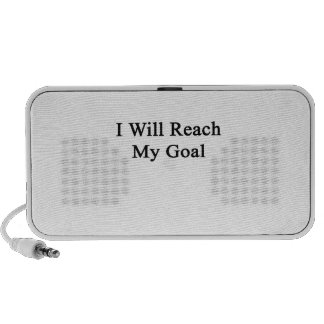 I Will Reach My Goal Laptop Speakers