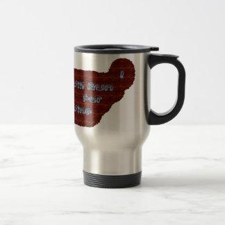 I Will Run For Wine Travel Mug