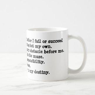 I Will Shape My Future Mug