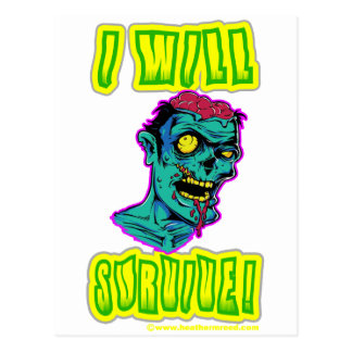 I Will Survive Post Cards