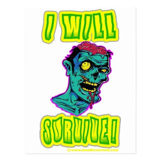 I Will Survive! Post Cards
