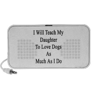 I Will Teach My Daughter To Love Dogs As Much As I Travelling Speaker