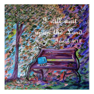 I Will Wait Upon the Lord Acrylic Print