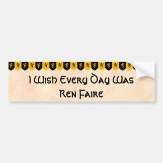 I Wish Every Day Was... Bumper Sticker