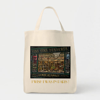 I WISH I WAS IN PARIS-3 TOTE BAG