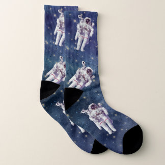 I WIsh I Were An Astronaut Space Socks 1