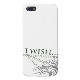 I Wish iPhone Case iPhone 5/5S Cases