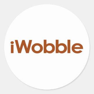 I Wobble Sticker