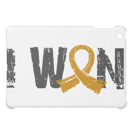 I Won Appendix Cancer iPad Mini Cases