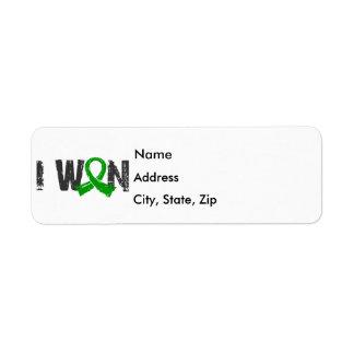 I Won Bile Duct Cancer Return Address Label