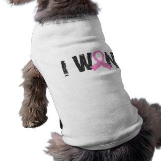 I Won Breast Cancer Pet T-shirt
