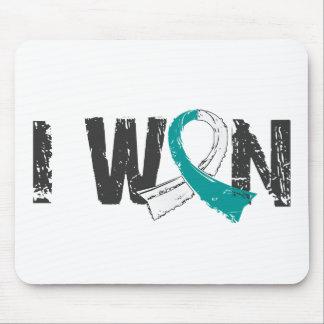 I Won Cervical Cancer Mouse Pad