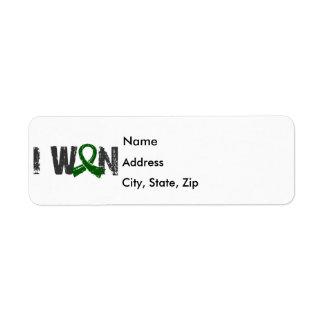 I Won Liver Cancer Return Address Label
