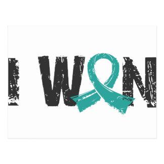 I Won Ovarian Cancer Postcard