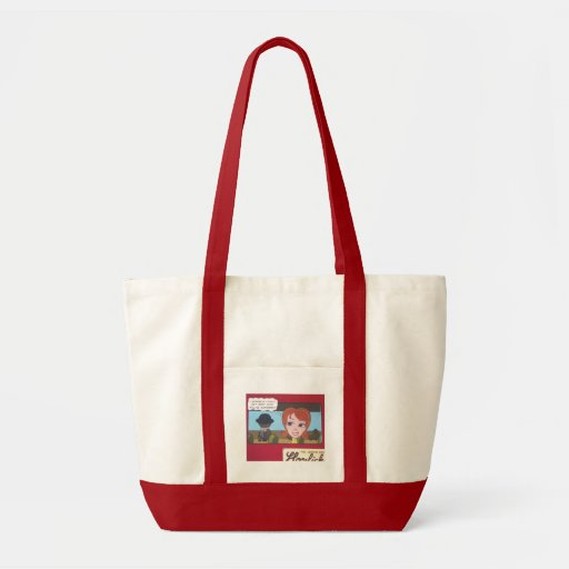 I WONDER IF I COULD GET AWAY WITH KILLING SOMEBODY CANVAS BAG