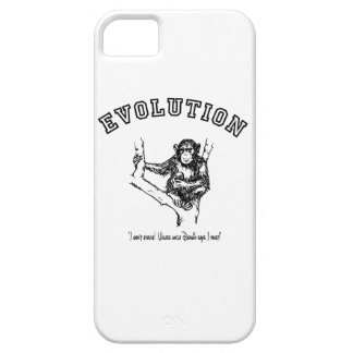 I won't evolve!  Unless Uncle Darwin says I must! iPhone 5 Case