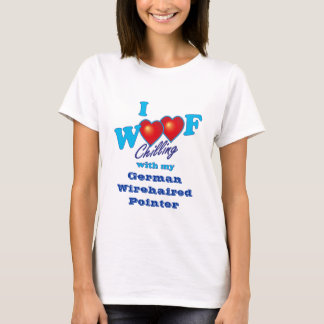 I Woof German Wirehaired Pointer T-Shirt