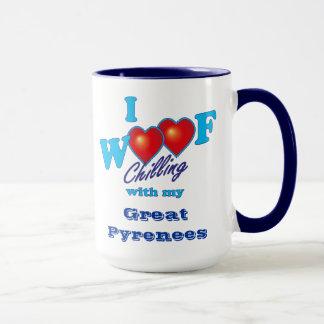 I Woof Great Pyrenees Mug