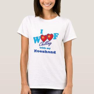 I Woof Keeshond T-Shirt