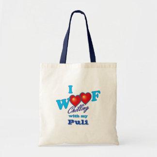 I Woof Puli Tote Bag