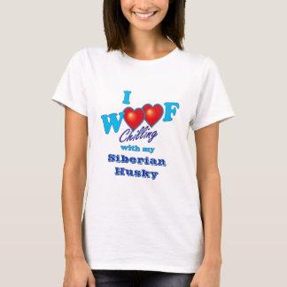 I Woof Siberian Husky T-Shirt