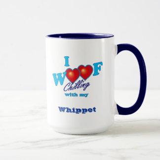 I Woof Whippet Mug