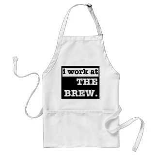I work at the Brew Standard Apron