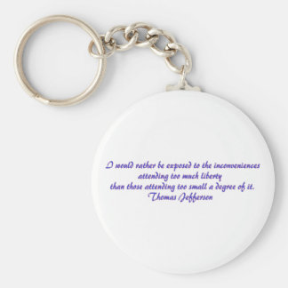 I would rather be exposed..... keychain
