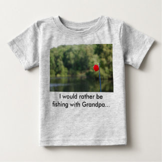 I would rather be fishing with Grandpa T-Shirt