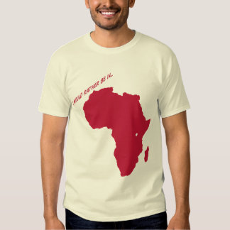 i would rather be in africa tee shirts