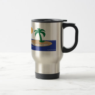 I Would Rather Be On The Beach Stainless Steel Travel Mug