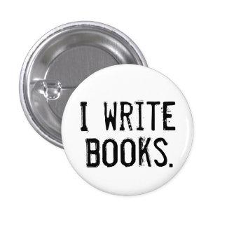 """I Write Books"" Button"