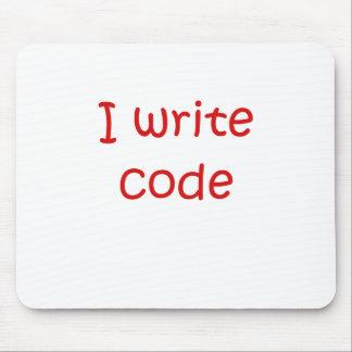I Write Code Mousepads