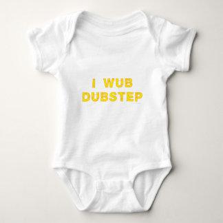 I Wub Dubstep (stiches) Baby Bodysuit