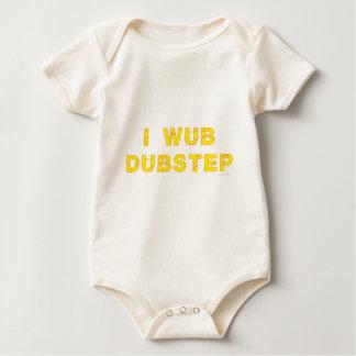 I Wub Dubstep (stiches) Baby Bodysuits