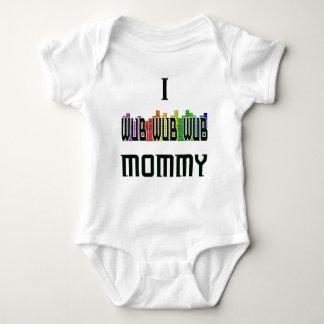 """I Wub Mommy"" Dubstep infant Creeper"