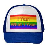 I Yam What I Yam. Cap