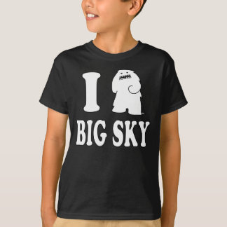 """i Yeti Big Sky"" Original Kids T-shirt"