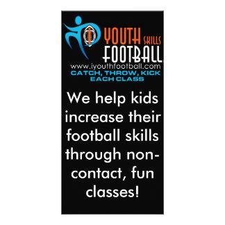 I Youth Football Custom Photo Card