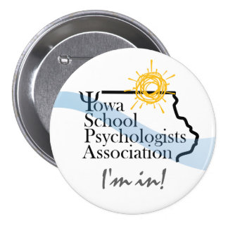 IA School Psychologists Association Member Button