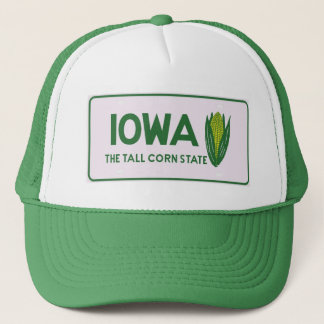 IA tall corn Trucker Hat