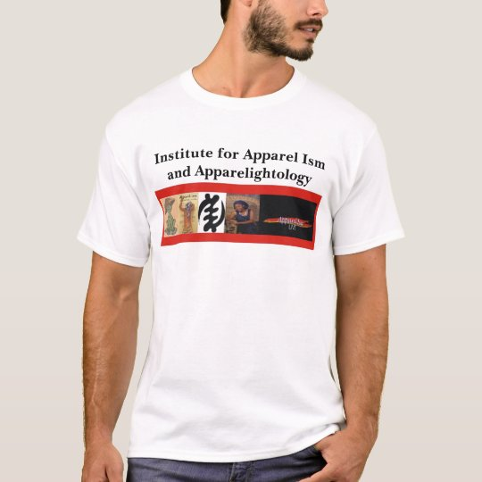 IAA Banner, Institute for Apparel Ism and Appar... T-Shirt