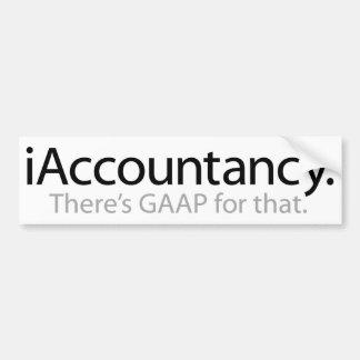 iAccountancy Bumper Sticker