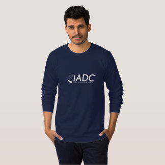 IADC Mens Long Sleeved T-Shirt - Navy